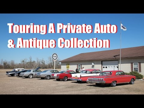 Touring A Private Auto & Antique Collection