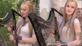 GAME OF THRONES Theme - Harp Twins - Camille and Kennerly