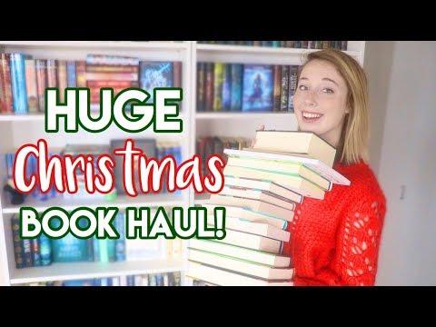 HUGE Christmas Book Haul!