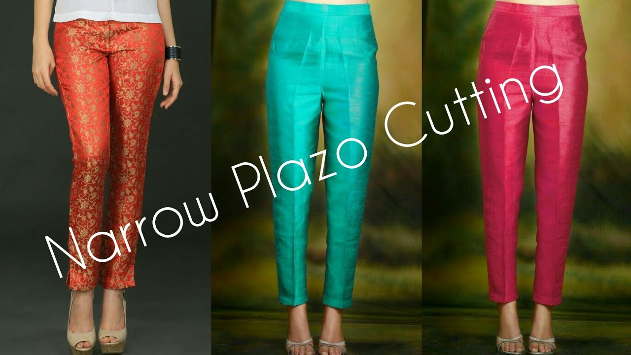 Narrow Plazo Pant Cutting Part 1 Youtube