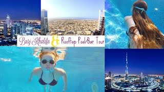 Rooftop Pool Fun & Burj Khalifa | Lucy Flight