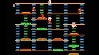 ファミコン OP タイトル バーガータイム 1985年11月27日発売