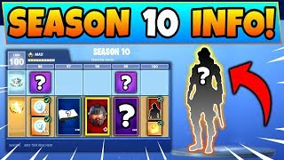 FORTNITE SEASON 10 BATTLE PASS! 7 Détails que nous connaissons! (Battle Royale Skins Info/Leaks)