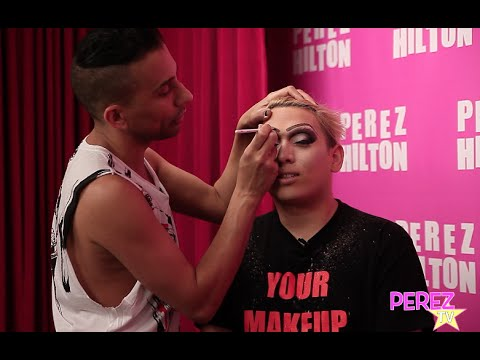 EXCLUSIVE! Bianca Del Rio Gives One Super  A Drag Race Makeover!