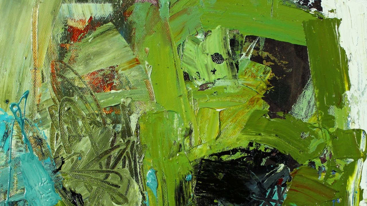 Conn Ryder Abstract Expressionist Paintings; Abstract Paintings ...
