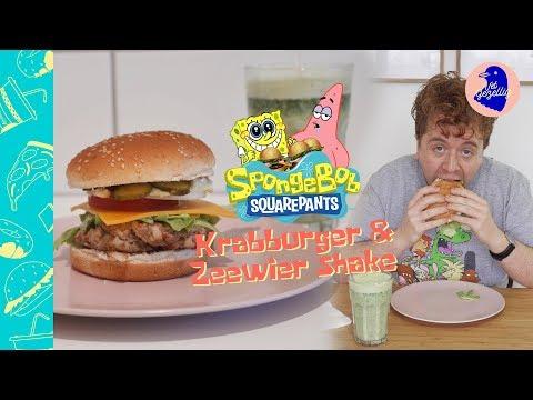 Krabburger namaken van SpongeBob Squarepants! | Vet Gezellig