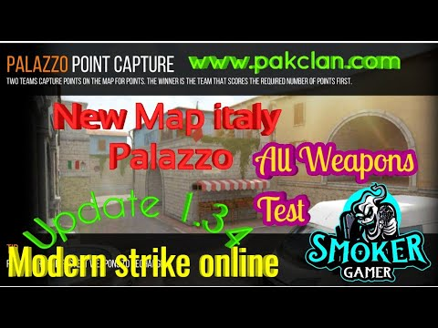 Modern Strike Online Game Play Map italy Palazzo 1.34.0 HD 2019