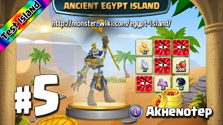 Ancient Egypt Island (Test) #5 - Akhenotep - Monster Legends