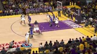 NBA 2K13 PC Lakers VS Kings Simulation HD