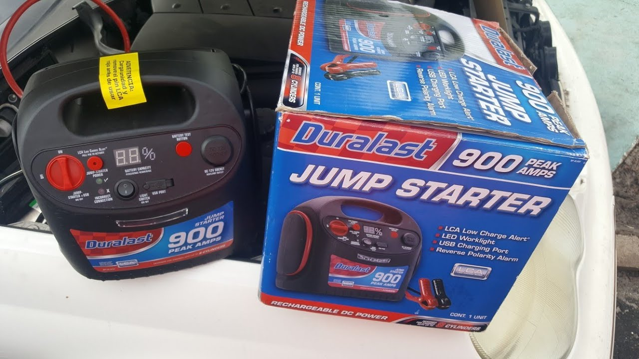 duralast jump starter 1200 how to use