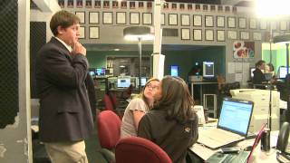Students Produce Network-Affiliate Newscasts at KOMU-TV 8