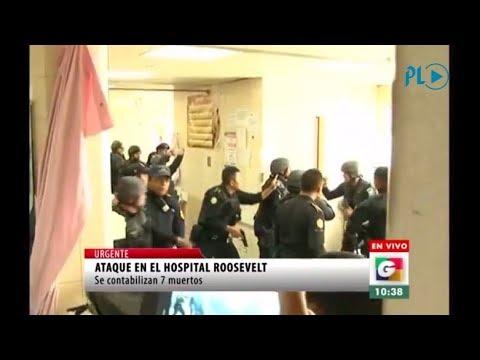 Pánico en hospital durante búsqueda de pandilleros responsables de ataque | Prensa Libre