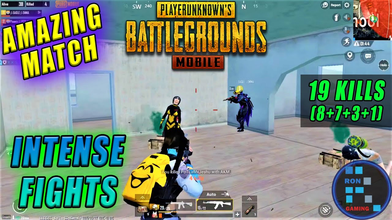 Pubg Mobile | Most Amazing And Intense Match With 19 Kills