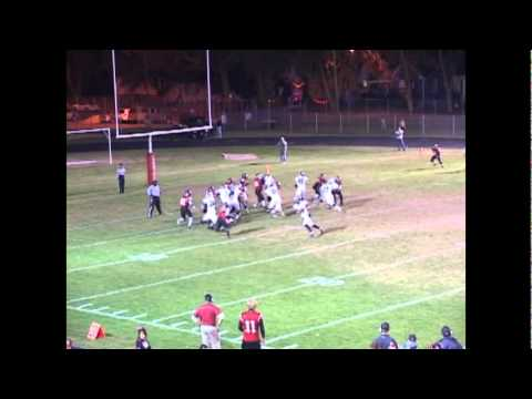 Nathan Massey Bartlett High School 2010 football highlight fim