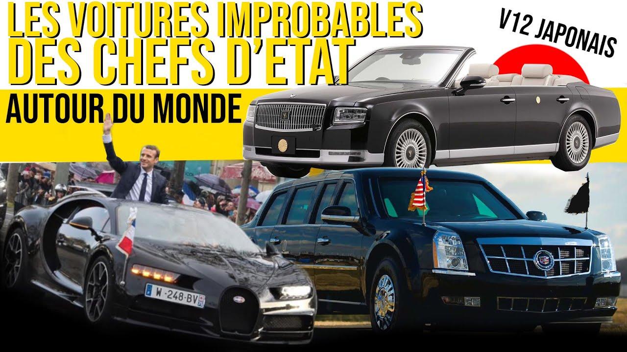 Ces Chefs d'état aux voitures IMPROBABLES !
