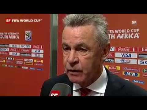 Interview mit Ottmar Hitzfeld gegen Chile
