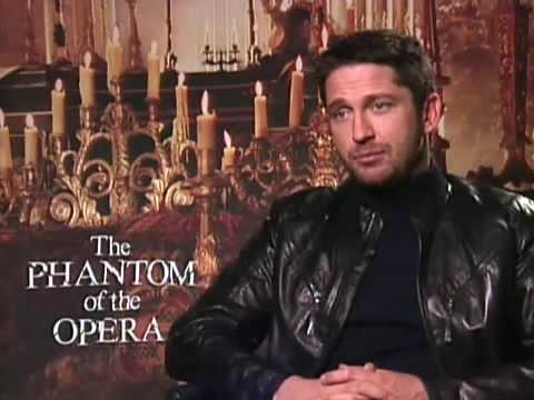 Gerard Butler: The Phantom of the Opera Interview