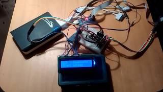 Вывод информации на LCD через bluetooth