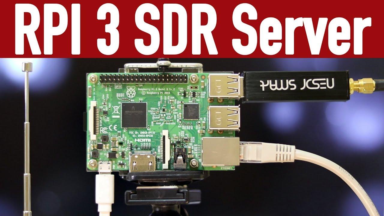 How to make SDR server using raspberry Pi3 & RTL-SDR [Hindi]