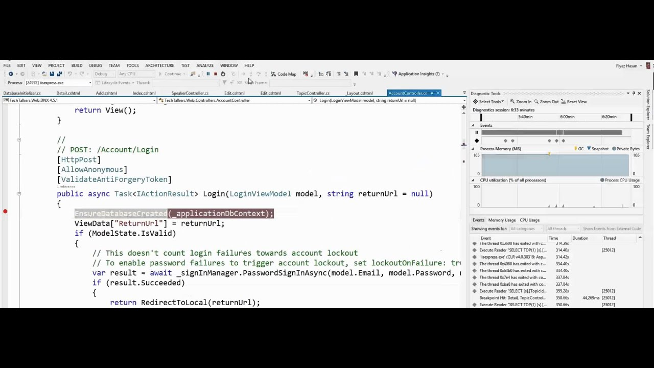 Building web apps with ASP net 5 MVC and Entity Framework 7