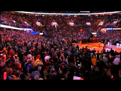 Cleveland Cavaliers - Opening Night 2014/2015 - Introduction (The Lebron James Return) streaming vf