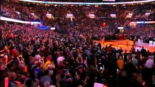 Cleveland Cavaliers - Opening Night 2014/2015 - Introduction (The Lebron James Return)