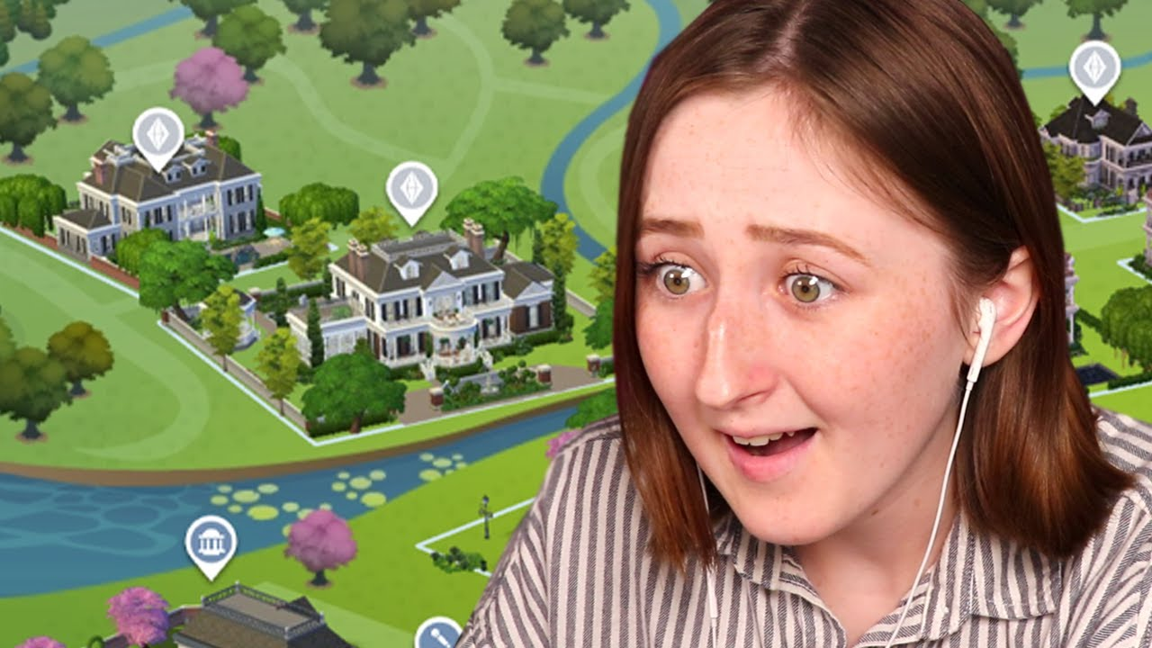 Someone rebuilt every world in The Sims 4 (and did it better than me) thumbnail