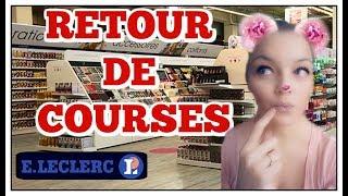 RETOUR DE COURSES / HAUL COURSES