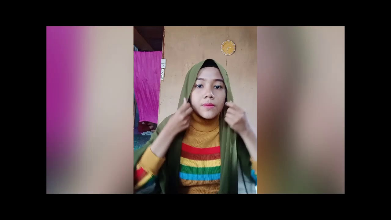 Tutorial Hijab Pashmina Rempel Youtube