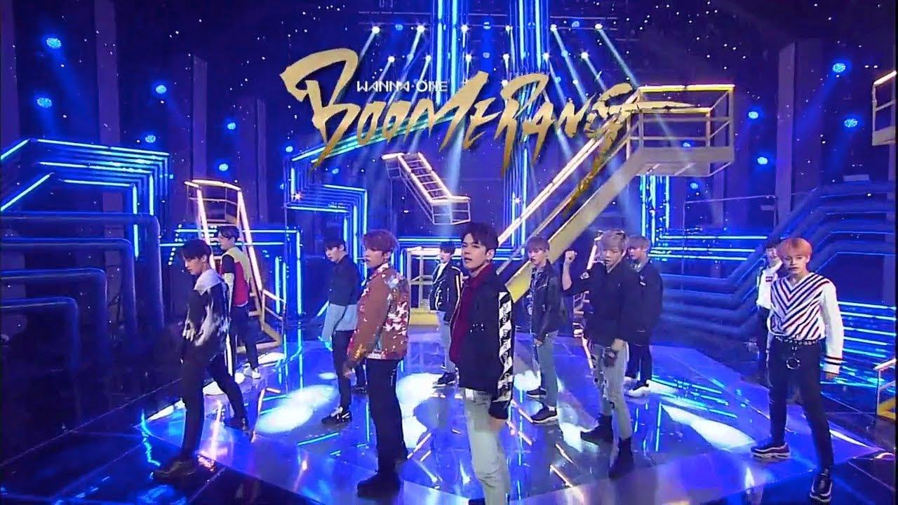 《Comeback Special》 WANNA ONE – BOOMERANG at Inkigayo 180401
