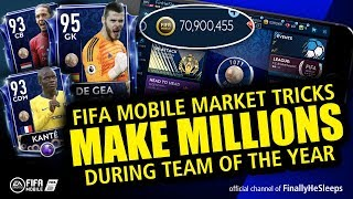 How to Make Millions in the Market during TOTY on FIFA Mobile