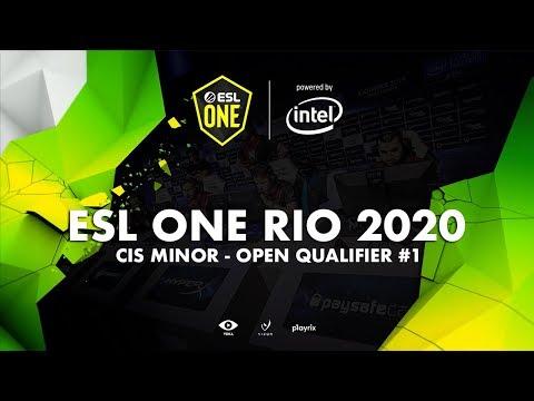 [Highlights] ESL ONE RIO 2020 - CIS MINOR OPEN QUALIFIER #1