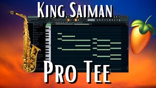 King Saiman and Pro Tee tutorial | Trumpet gqom + FREE Samples