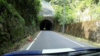 【Japanese country road】Driving the Chiba Prefecture (Rest Area OTAKI to Rest Area KIMITSU)