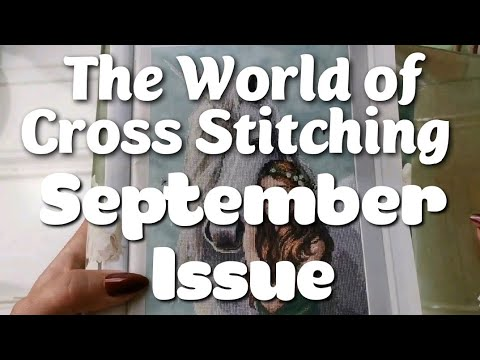 September 2020 Sealed Bag The World of Cross Stitching Issue 297