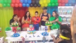 Minha festa dos vingadores