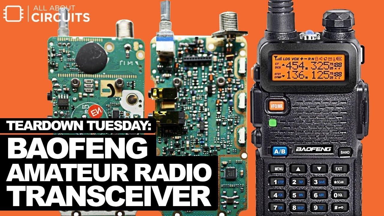 Teardown Tuesday: Baofeng Amateur Radio Transceiver - News
