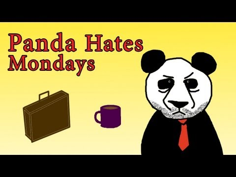 Newegg TV: Panda Hates Mondays  Halloween Commercial 1
