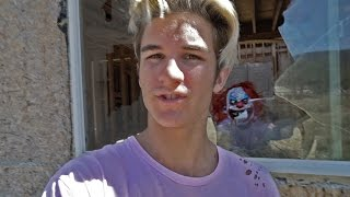 CREEPY CLOWN IN ABANDONED HOUSE!
