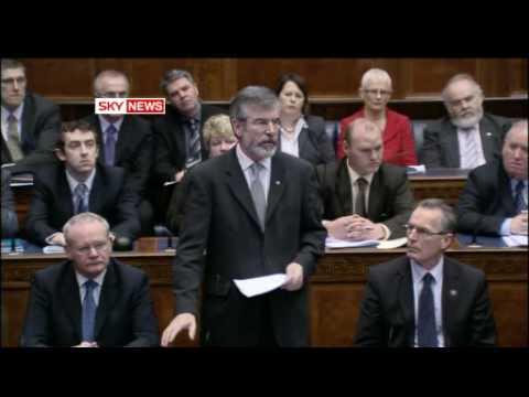 Gerry Adams - Antrim Shootings