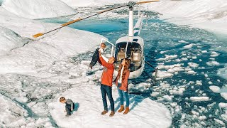 Surprising Husband with a Pregnancy Announcement on an Epic Helicopter Flight!