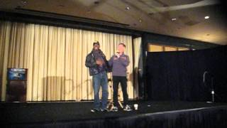 GEORGE TAKEI AND LEVAR BURTON SAN FRANCISCO CONVENTION .11-18-2012