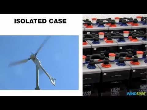 TELECOM SYSTEM - SMALL WIND TURBINE - Windspot efficient turbine