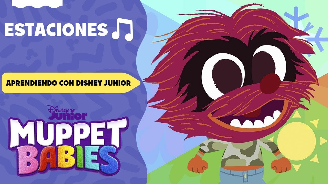 Estaciones |  Aprendiendo con Disney Junior