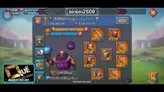 Скачать Lords Mobile GP King Account 10 Tỷ Nói Thêm Về TRAP Acc Khủng Hơn CHỤC TỶ