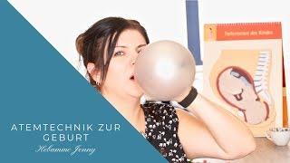 Atemtechnik zur Geburt, richtig atmen, Hebammen tipps, natürliche Geburt