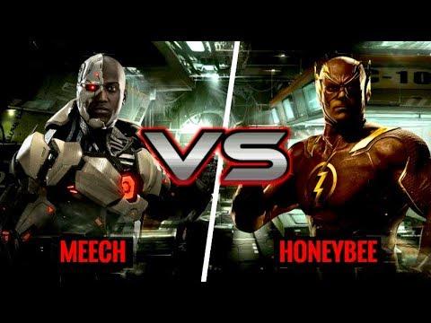 THE BEST CYBORG! Meech (Cyborg) vs HoneyBee (Flash)