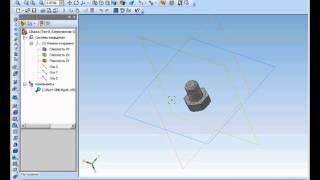 Измерения в деталях в Компас 3D. Расстояние и угол