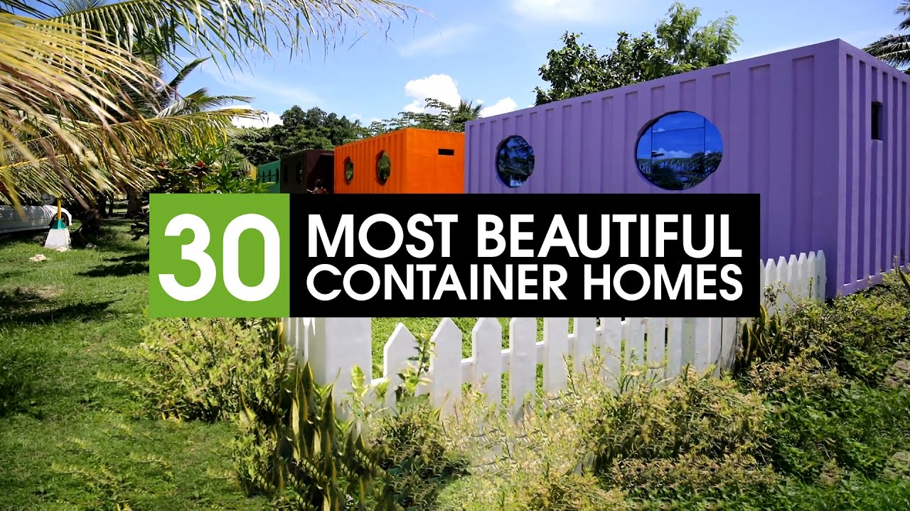 Best Container Homes 30 best shipping container homes in the world - youtube
