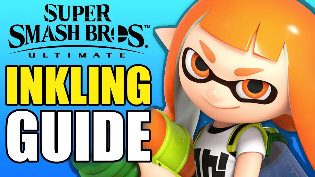 Inkling Complete Guide - Super Smash Bros Ultimate - All You Need To Know!